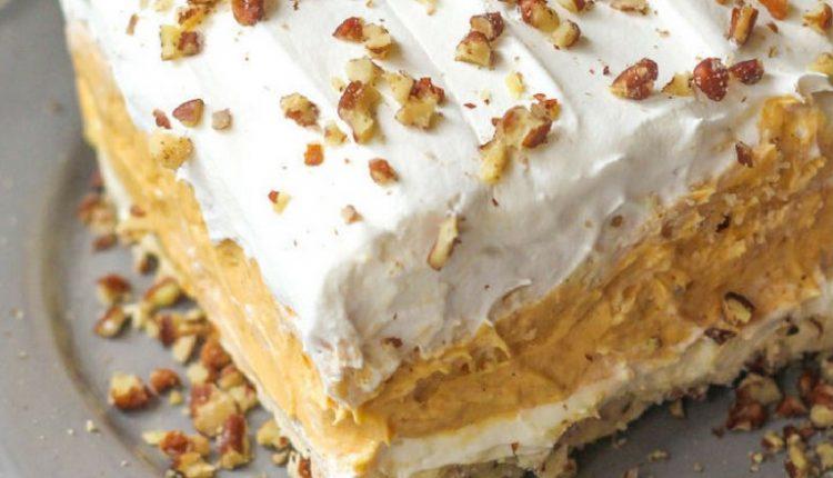 Layered No-Bake Pumpkin Dessert